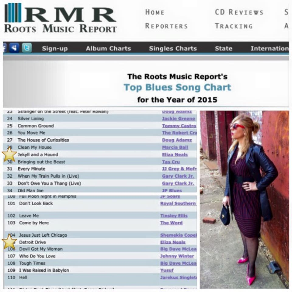"""Roots Music Report – Year End Blues Chart for 2015 – """"Breaking And Entering"""""""